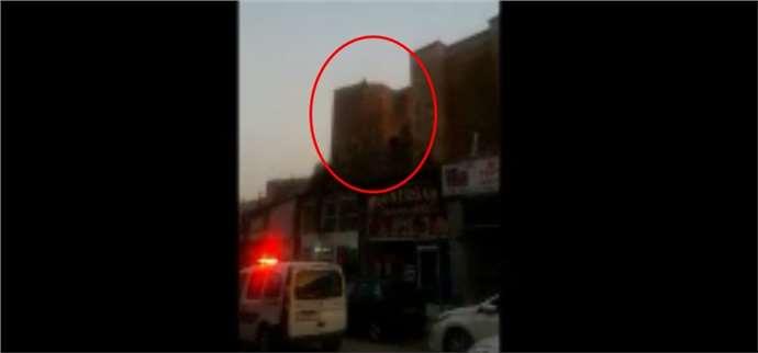 Genç kız Niğde kalesinden intihar için atladı, ölmedi (Video)