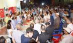 Mahir Başarır Yeşiltepe'de yoğun ilgiyle karşılandı