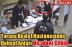 Hastane çalışanına saldırı