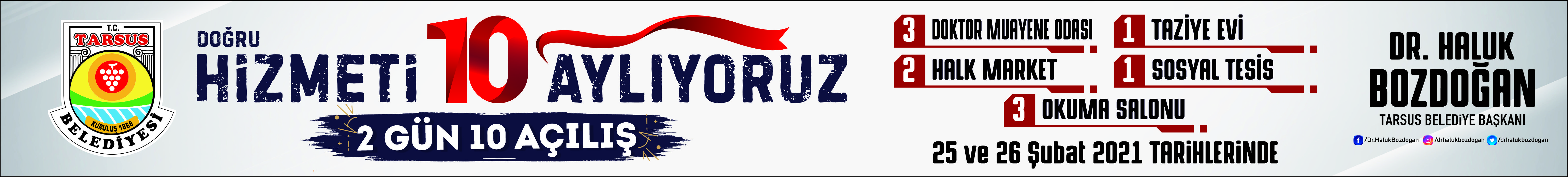 Belediye Tarsus banner