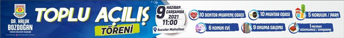 Tarsus Belediyesi toplu açılış