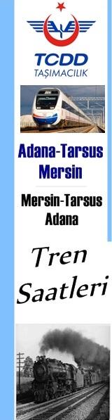 Adana-Mersin arası tren seferleri