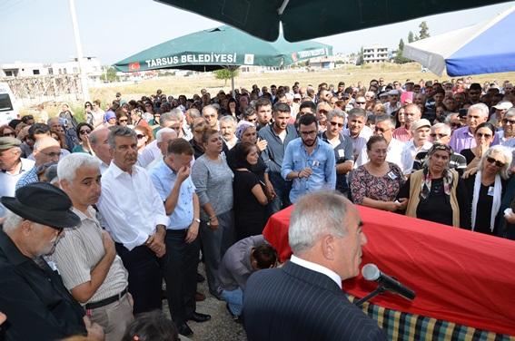 Metin Peşmen cenaze töreni