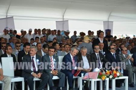 Tarsus Çukurova Havaalanının Temeli Atıldı