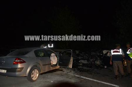 Özbek köyü yakınında kaza-kaplumbağa
