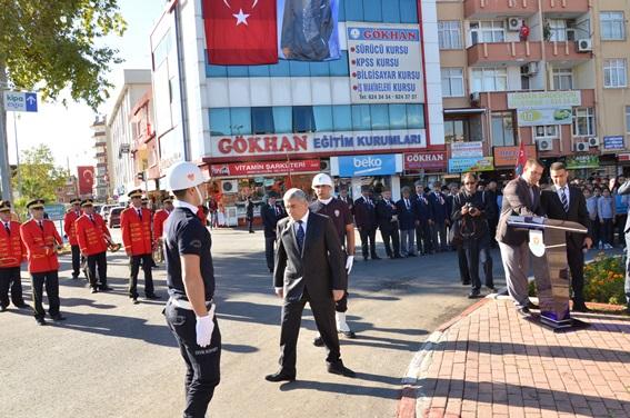 Atatürk'ün 77. ölüm yıl dönümü Tarsus'taki anma törenleri (Foto Galeri)