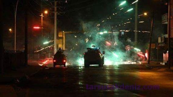 Tarsus'ta sokak eylemleri (Foto galeri)