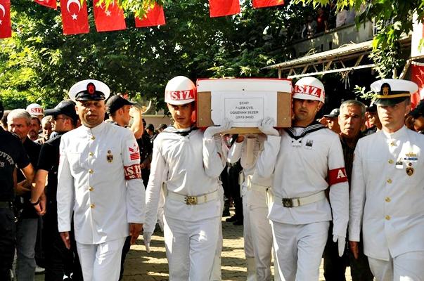 Şehit Piyade Uzman Çavuş Oğuzhan Sezer Cenaze Töreni (Foto Galeri)