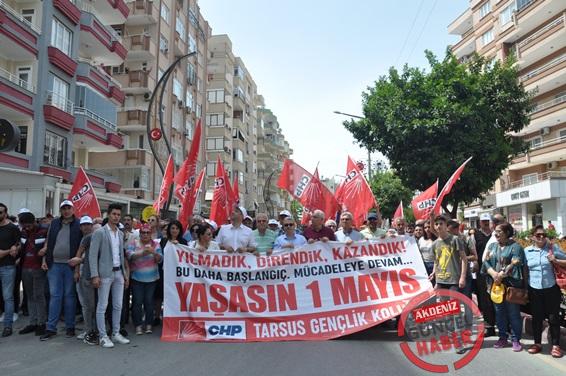 Tarsus'ta 1 Mayıs İşçi Bayramı Kutlaması-2019