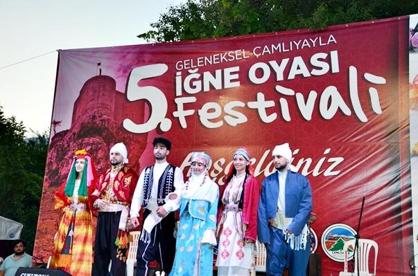 Çamlıyayla 5. İğne Oyası Festivali coşkulu geçti
