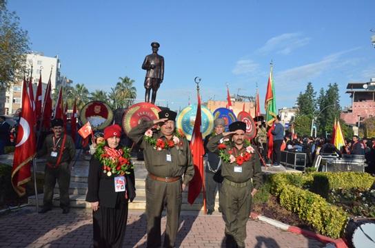Tarsus'un Düşman İşgalinden Kurtuluşunun 98. Yıl Dönümü Törenleri (Foto Galeri)
