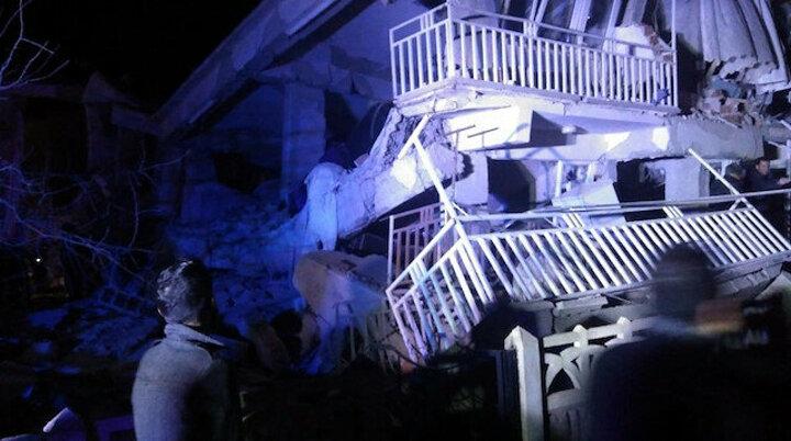Elazığ'da yaşanan deprem bölgesinden fotoğraflar