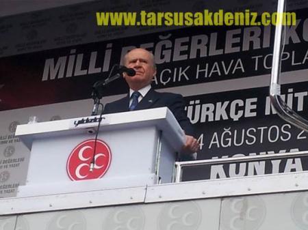 MHP Konya Mitingi