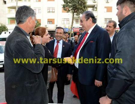 Macit Özcan-Mut ziyareti