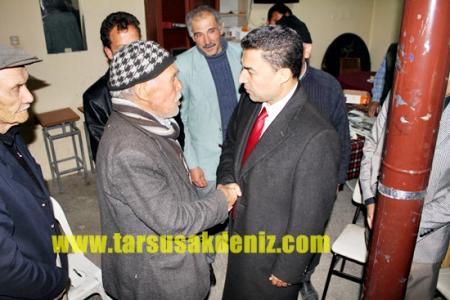 Mustafa Sever-Köy Ziyaretleri