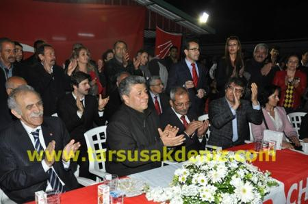 Mustafa Balbay Tarsus'ta