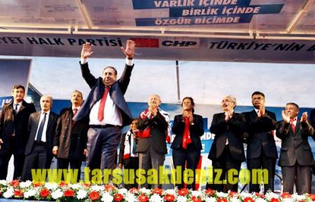 Kılıçdaroğlu-Mersin mitingi