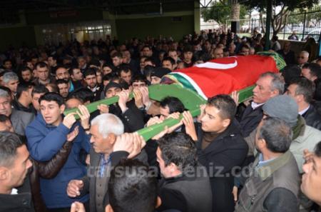 Belediye işçileri öldü-cenaze töreni