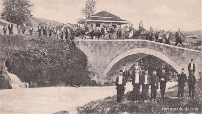 Tarsus Şelale köprüsü