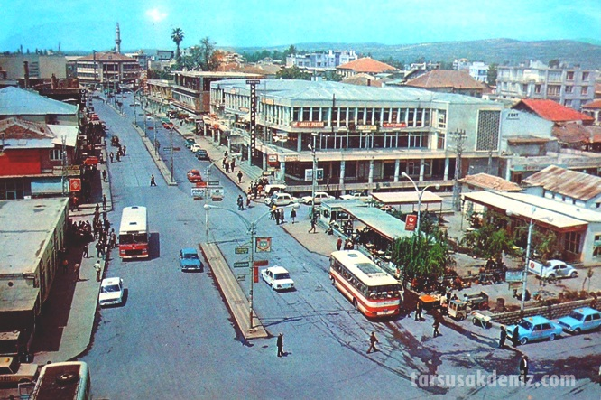 Tarsus Makam bölgesinin eski durumu
