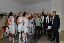 Mersin Büyükşehir Çeyrek Finalde