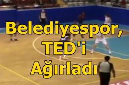 Tarsus Belediyespor, TED'i 79-65 yendi