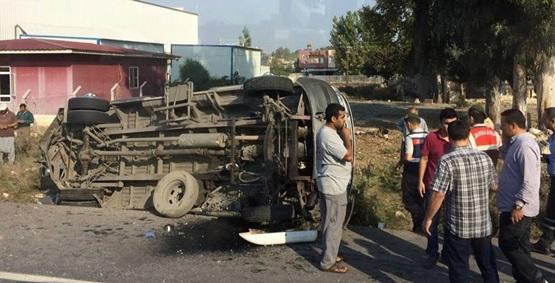 Çağ Üniversitesi öğrenci servisi ile TOK çarpıştı: 31 yaralı