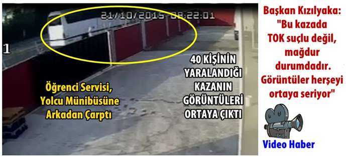Adana-Tarsus arasında 40 kişinin yaralandığı kaza görüntüleri ortaya çıktı