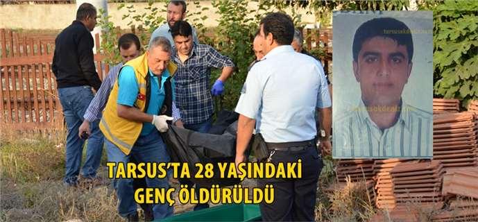 Tarsus'ta cinayet, Halit Taysı öldürüldü