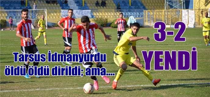 Tarsus İdmanyurdu 3-Sivas Belediyespor 2