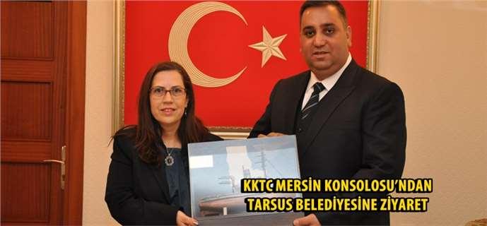KKTC Mersin Konsolosu'ndan Tarsus Belediyesine Ziyaret
