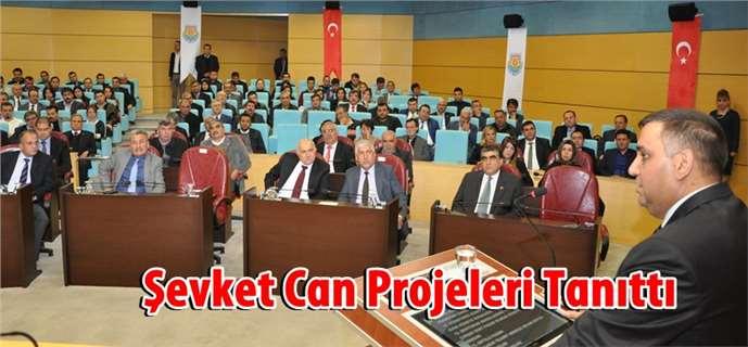 Başkan Can devasa projelerin detaylarını tanıttı