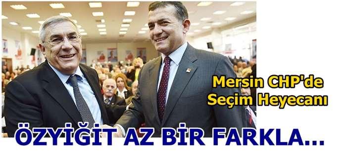 Mersin CHP Abdullah Özyiğit'le yola devam ediyor