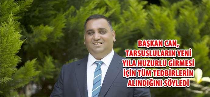 Tarsus'ta yılbaşı tedbirleri alındı