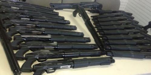 Adana'da 591 ruhsatsız silah yakalandı