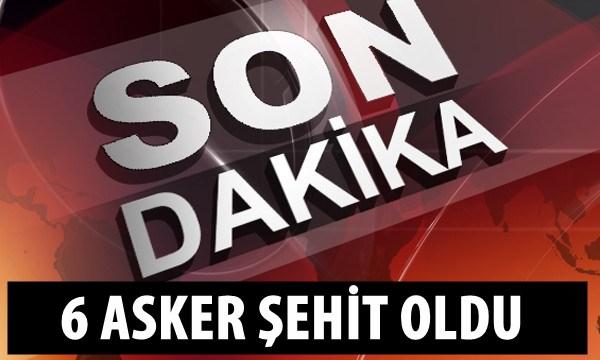 Diyarbakır'da askeri aracın geçişi sırasında patlama: 6 Asker Şehit