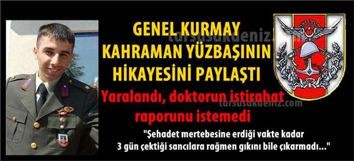 Tarsuslu Şehit Yüzbaşı Halil Özdemir'le ilgili paylaşımda bulundu