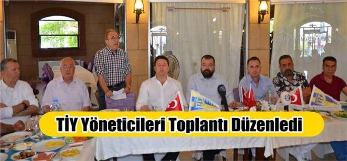 Tarsus İdmanyurdu yöneticileri basın toplantısı düzenledi