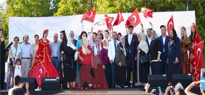 Mersin Çamlıyayla'da 2'nci İğne Oyası Festivali Coşkulu Geçti