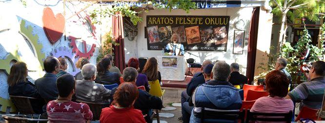 Tarsus Aratos Felsefe Okulu'nda 2. Ders Yapıldı