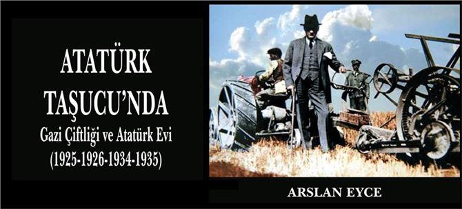 """""""Atatürk Taşucu""""nda Kitabı Yayınlandı"""