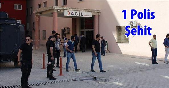 PKK'ya yönelik operasyon: 1 polis şehit oldu