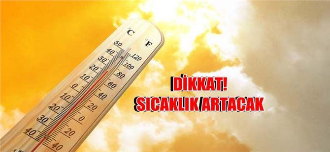 Sıcaklık mevsim normallerinin üzerine çıkacak