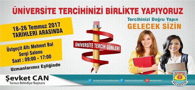 Tarsus Belediyesi'nden, Üniversite Tercihi Yapacak Öğrencilere Rehberlik Hizmeti