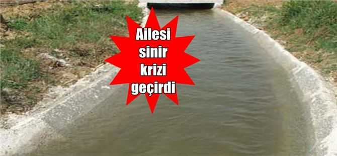 Sulama kanalına düşen 10 yaşındaki çocuk maalesef