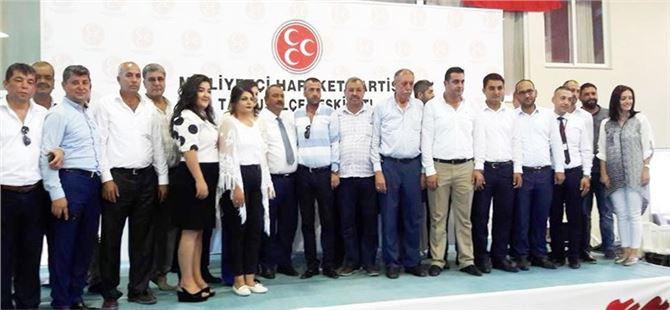 Tarsus MHP'de Kongre Heyecanı