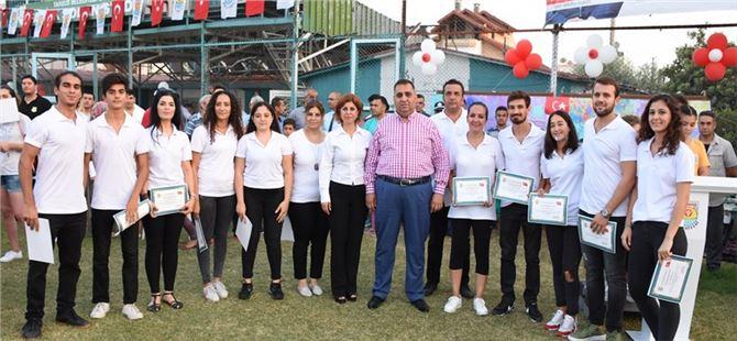 Tarsus Belediyespor'da Sertifika Heyecanı