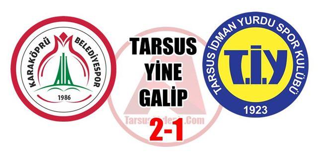 Tarsus, Karaköprüyü yine yendi: 2-1