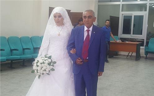 Emine ve Orhan Kır Yaşamlarını Birleştirdi