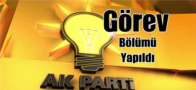 Tarsus Ak Parti'de görev bölümü yapıldı